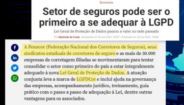 Revista Veja destaca a importância do LGPDCOR